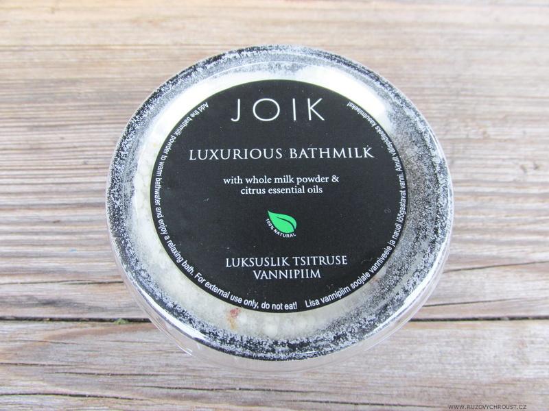 Joik - Mléčná koupel s citrusovými oleji