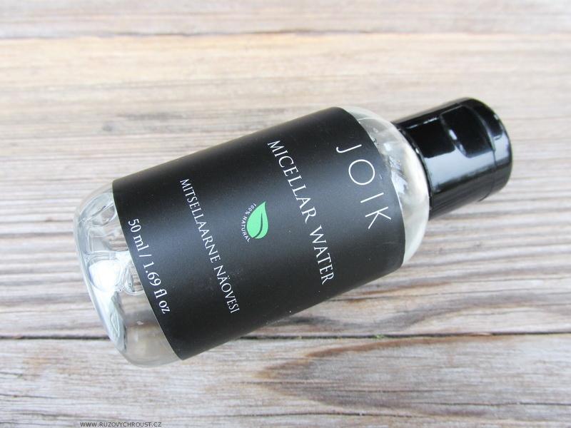 Joik - Micelární voda s chrpou a aloe vera