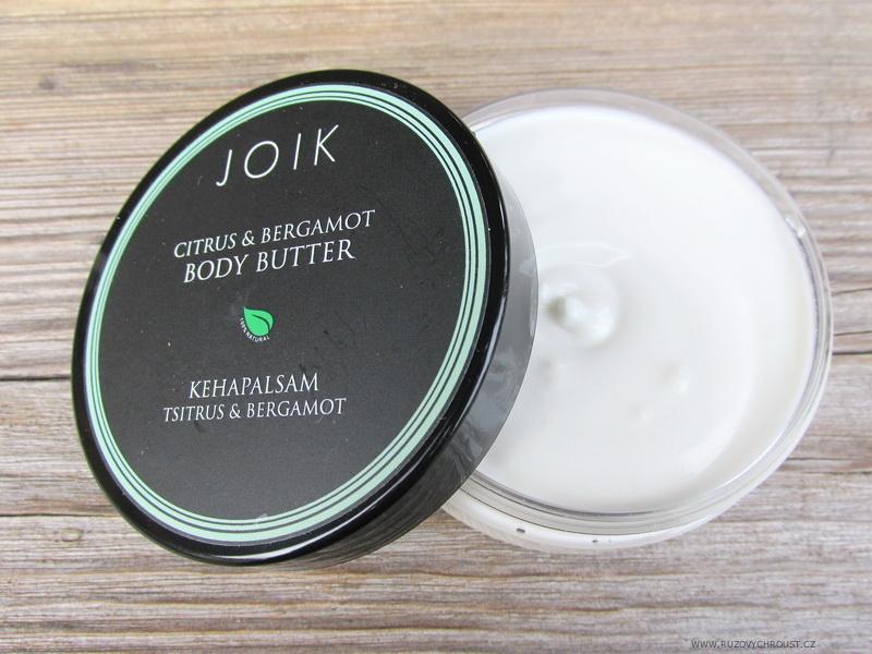 Joik - Tělové máslo s citrusy a bergamotem