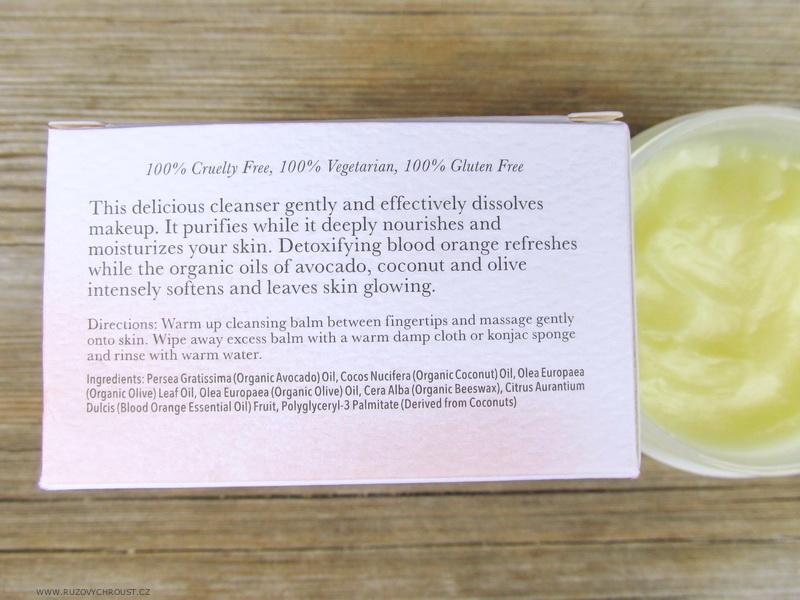 """100% Pure - čisticí pleťový balzám """"Krvavý pomeranč"""""""