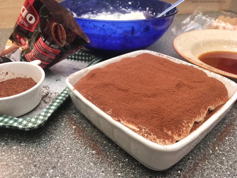 Italský dezert: Tiramisu (obrázkový recept)