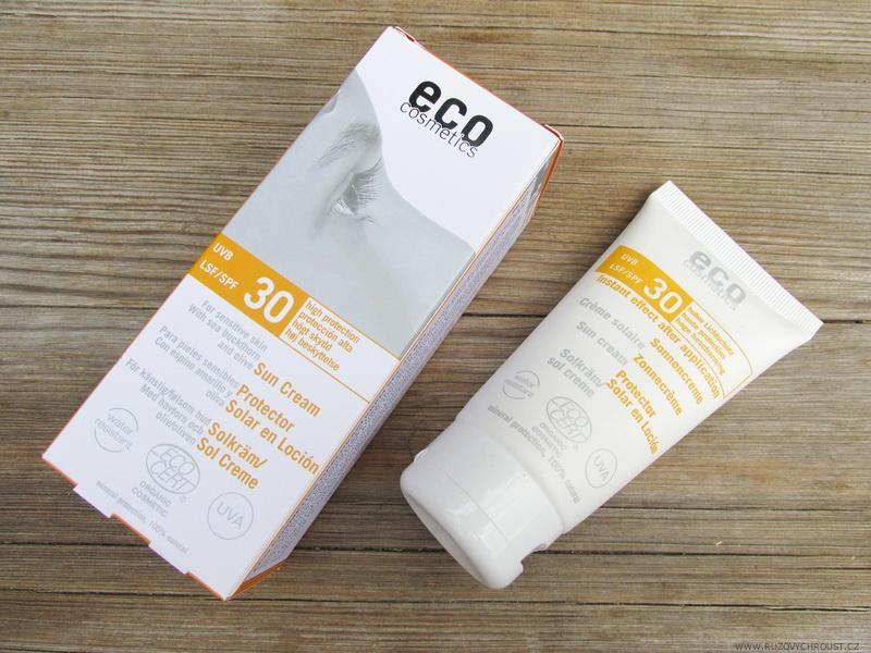 Eco Cosmetics - BIO opalovací krém SPF 30