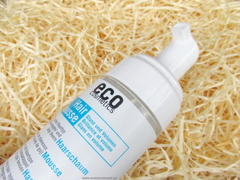 Eco Cosmetics - Tužicí pěna na vlasy BIO