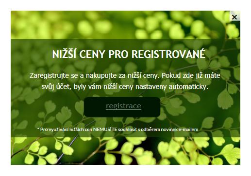 Stibio - registrace