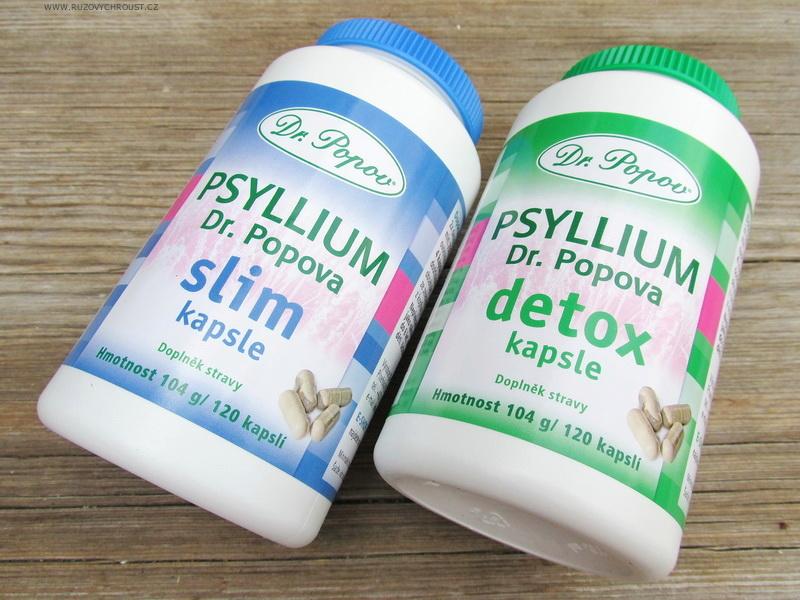 Dr. Popov - Psyllium kapsle (DETOX a SLIM), Jitrocelová mast