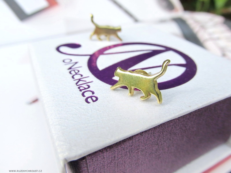 oNecklace.com - Cat Earrings