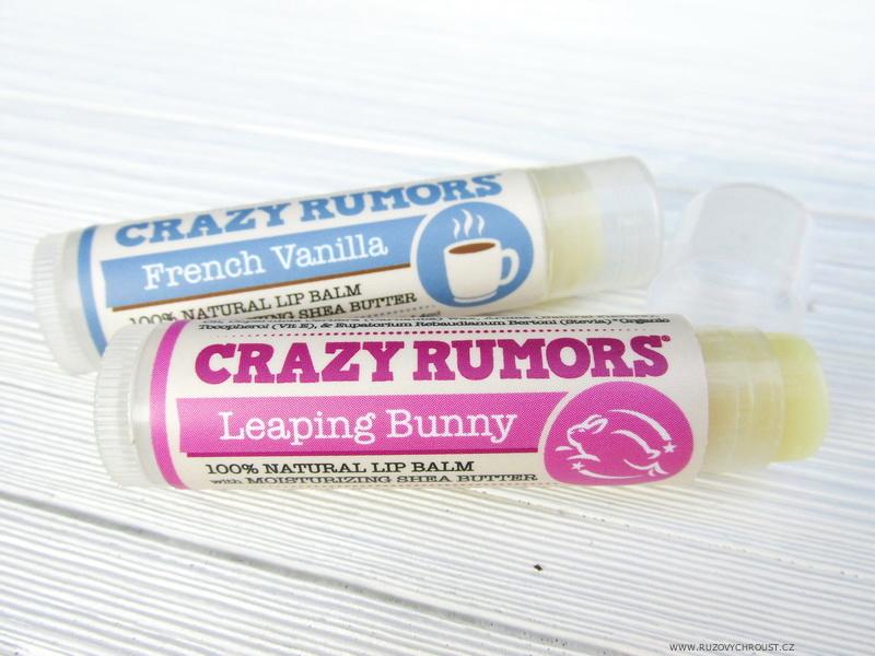 Crazy Rumors balzámy na rty