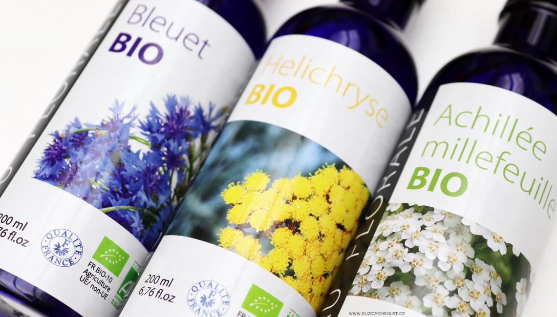 Altho - Květové BIO hydroláty (slaměnka, chrpa, řebříček)
