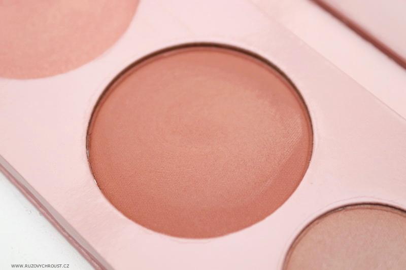 100% Pure - paletka Pretty Naked + dlouhotrvající korektor Créme