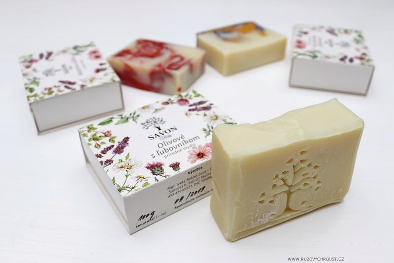 Savon - 3 přírodní mýdla