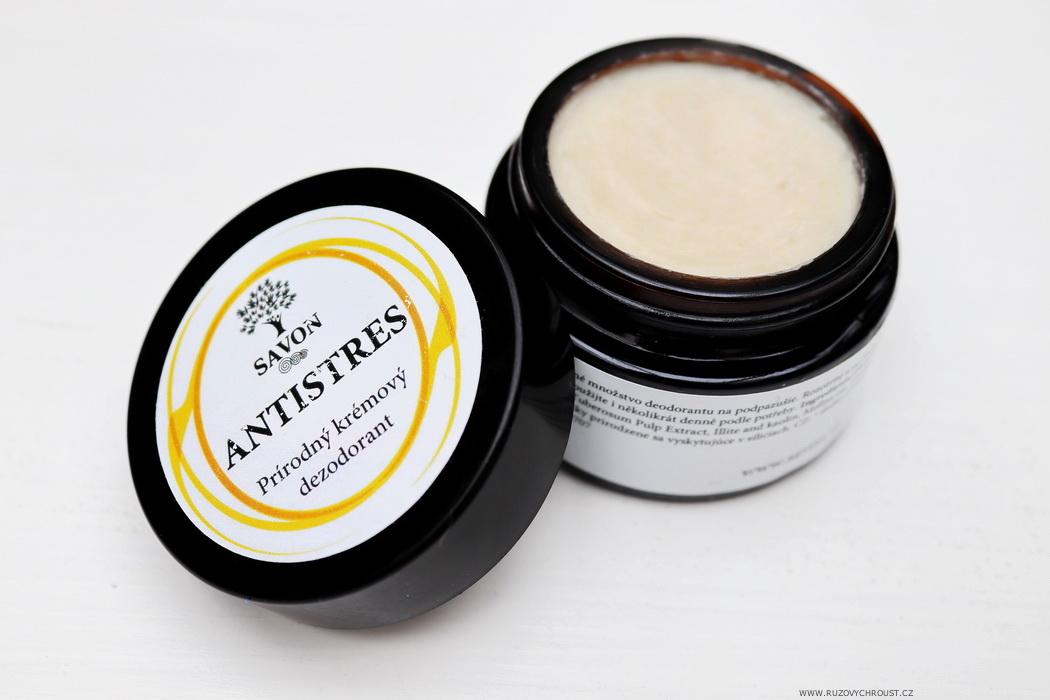Savon - Antistres (přírodní krémový deodorant)