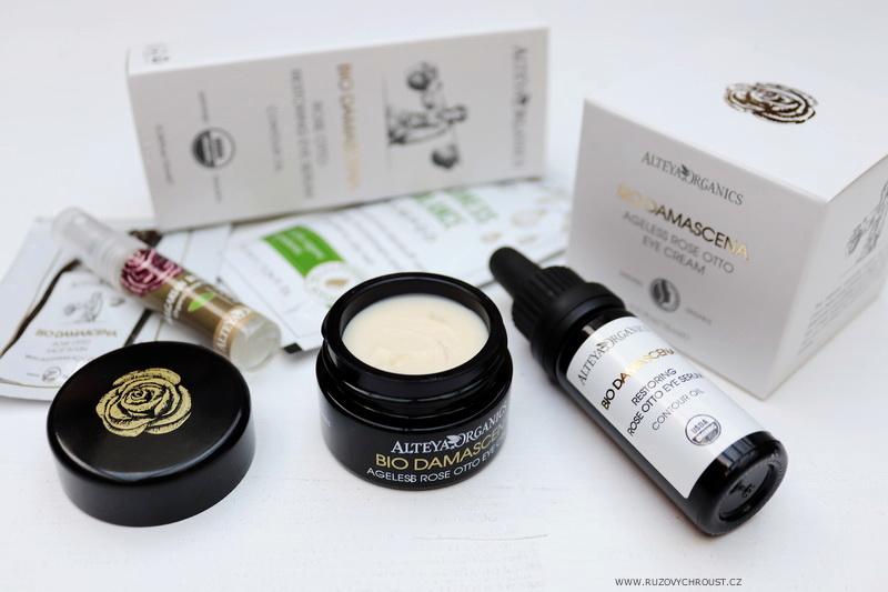 Alteya Organics - růžová oční péče