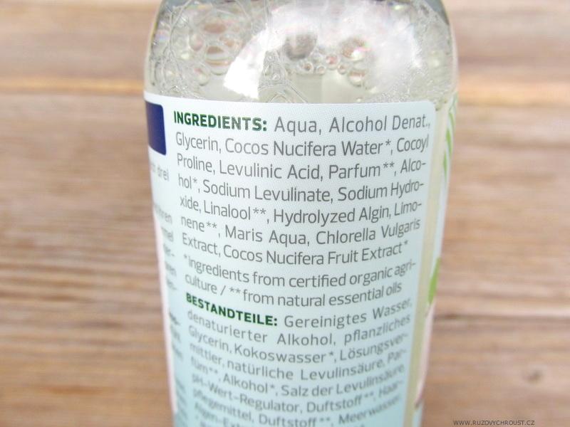 Alverde - osvěžující sprej Kokos