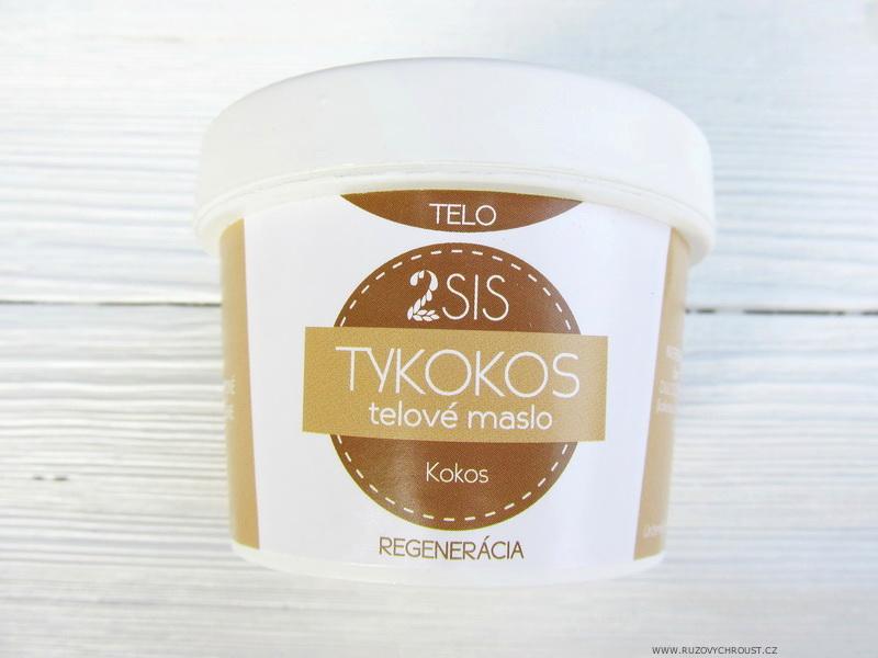 2SIS - Tělové máslo TYKOKOS