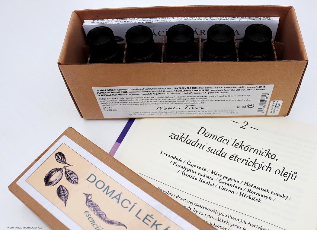 Nobilis Tilia - Domácí lékárnička