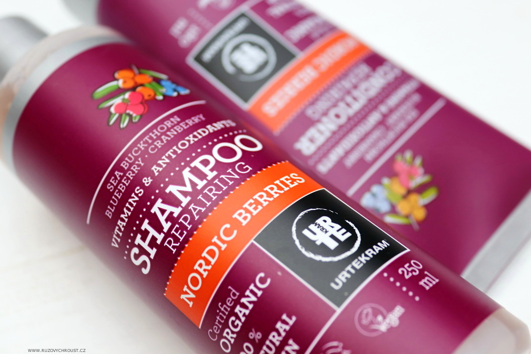 Urtekram - šampon a kondicionér Nordic Berries