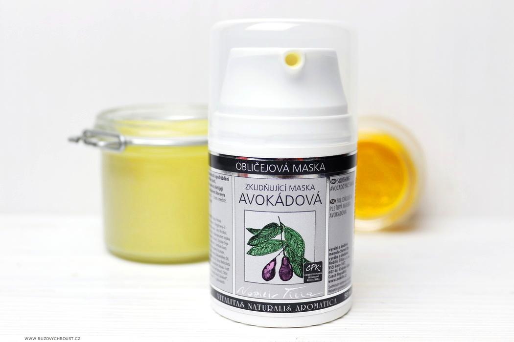 Nobilis Tilia - Zklidňující avokádová maska