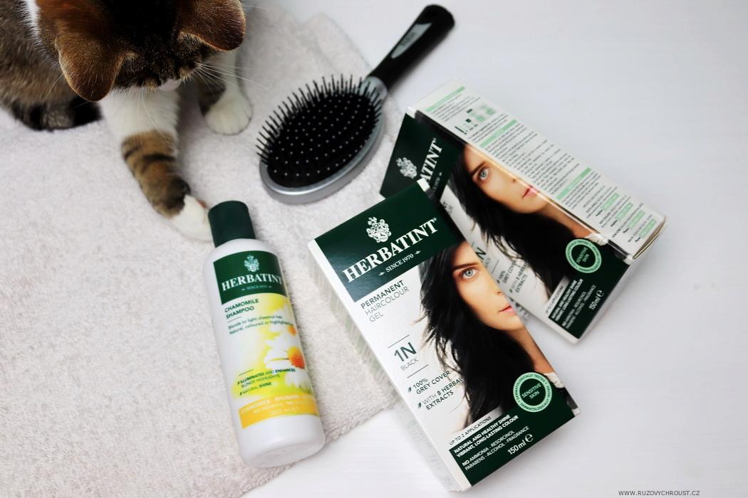 Herbatint - Heřmánkový šampon na barvené vlasy