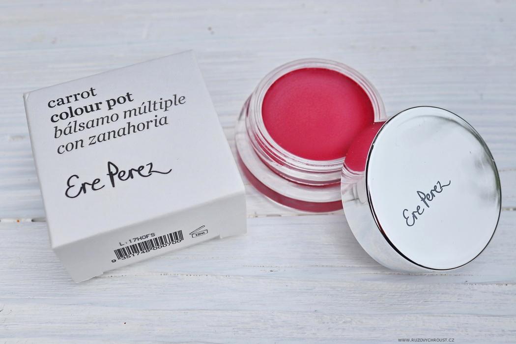 Ere Perez - BIO make-up, multifunkční tvářenka, rtěnka s olivovým olejem