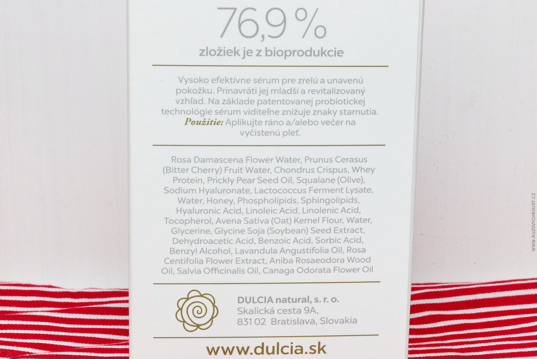 Dulcia - Exclusive pleťové sérum