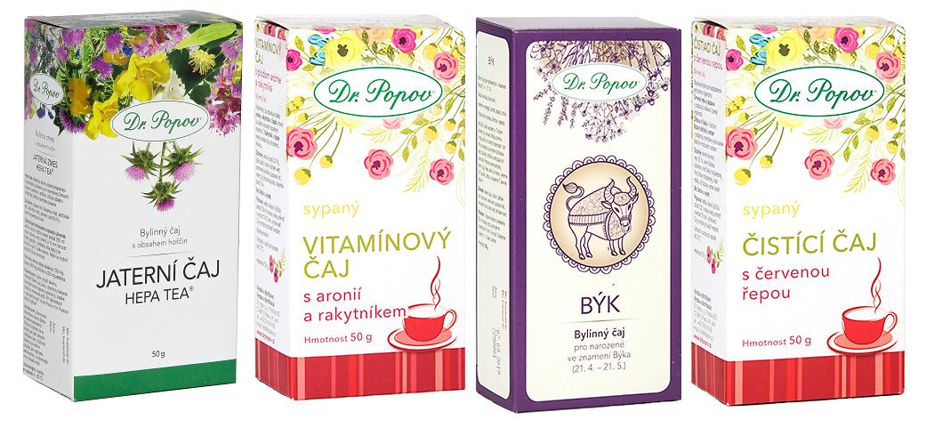 Dr. Popov - bylinné čaje s pampeliškou