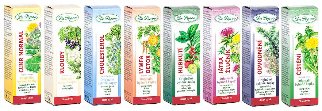 Dr. Popov - bylinné kapky s pampeliškou