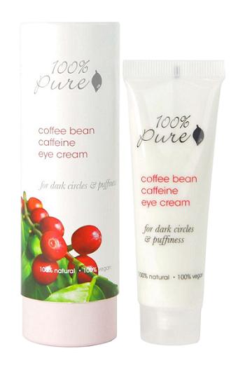100% Pure oční krém káva