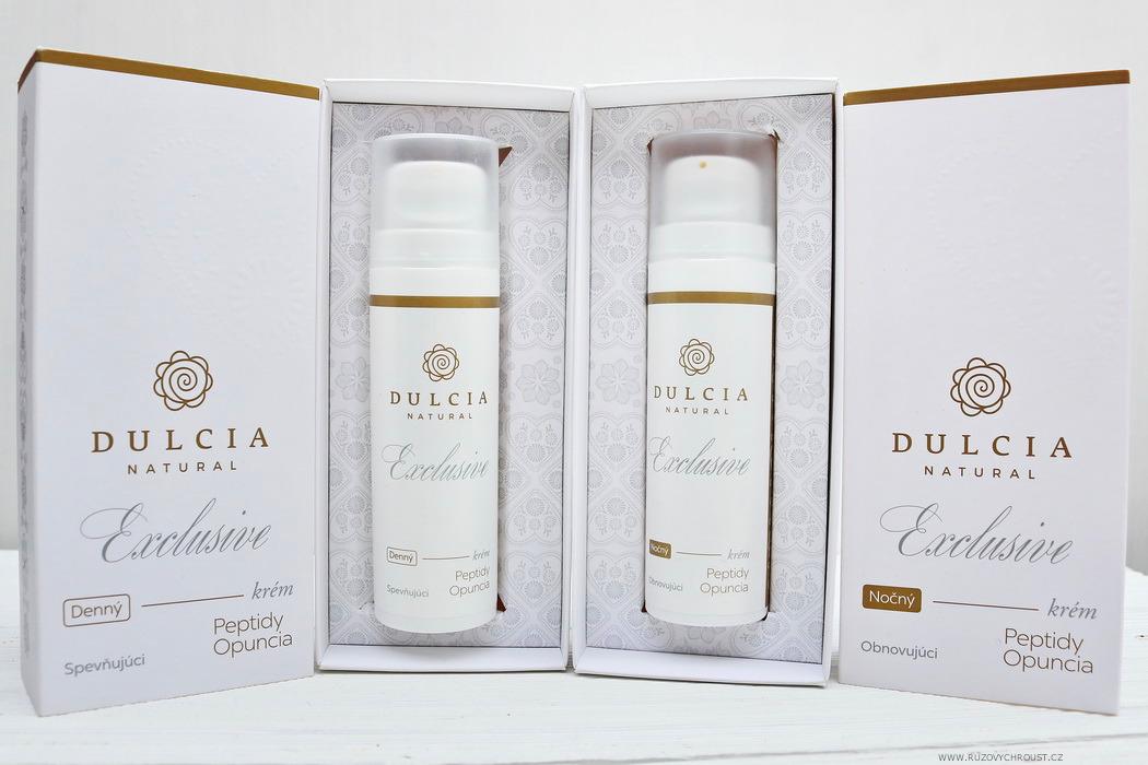 Dulcia Exclusive (Peptidy Opuncia) - denní a noční pleťový krém
