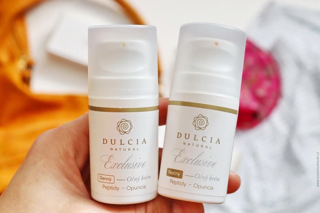 Dulcia Exclusive - oční krémy (denní a noční)