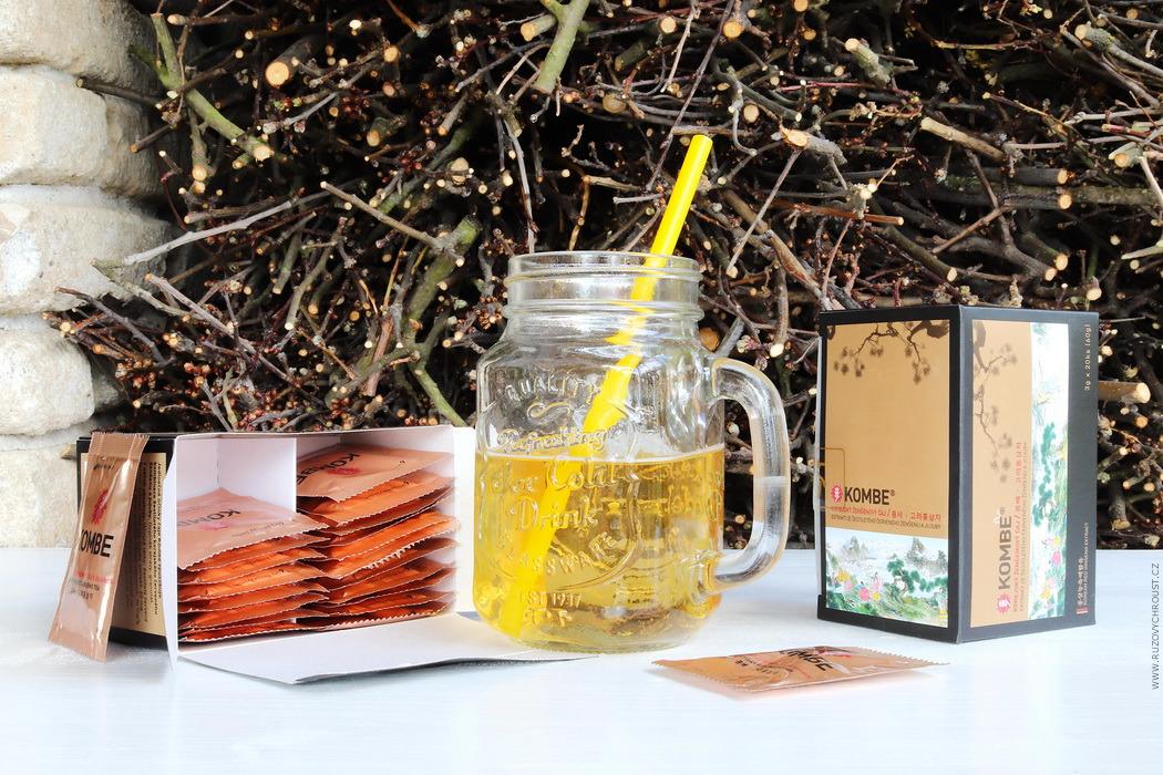 Ženšenový čaj Kombe (z Pure District)