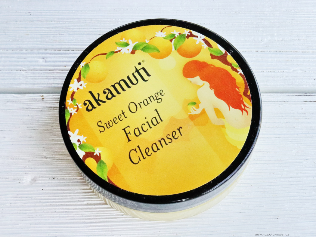 Akamuti - sweet orange facial cleanser
