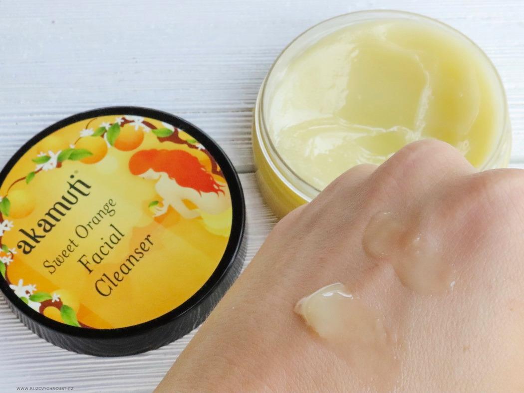 Akamuti - sweet orange facial cleanser