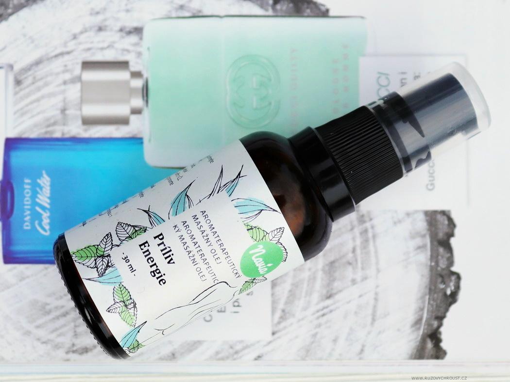 Navia – masážní olej Příliv energie