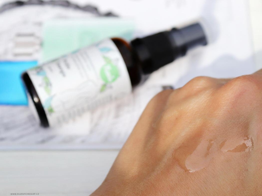 Navia - masážní olej Příliv energie