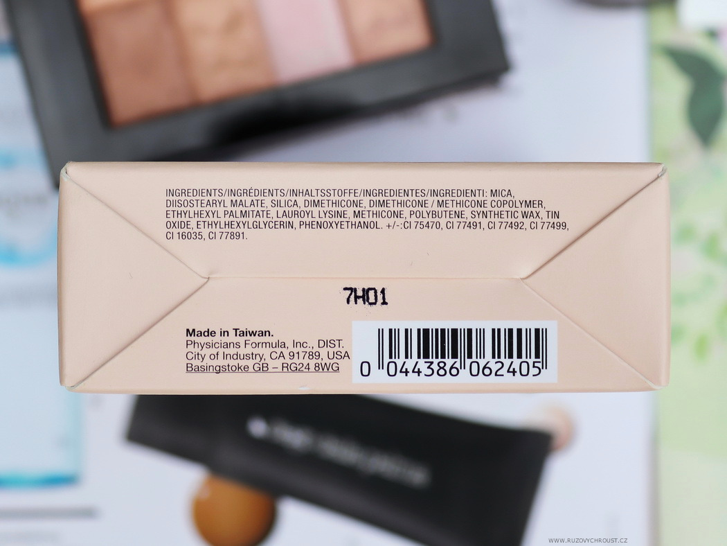 Physicians Formula Víceúčelová paletka Shimmer Strips All-in-1 Natural Nude
