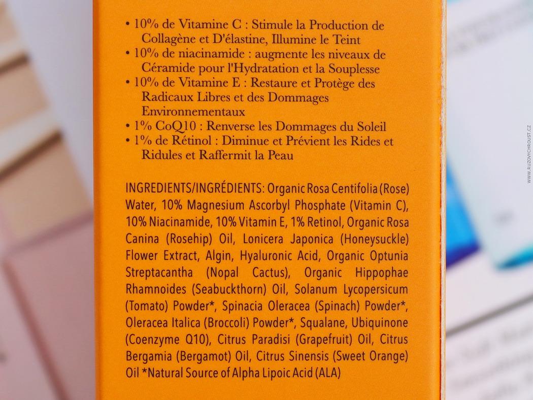 100% Pure – Pleťové noční sérum Multivitamin a antioxidanty