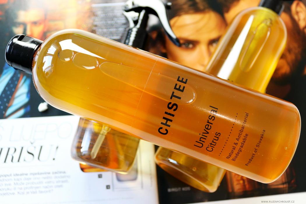 Chistee - čisticí prostředky z řady Citrus