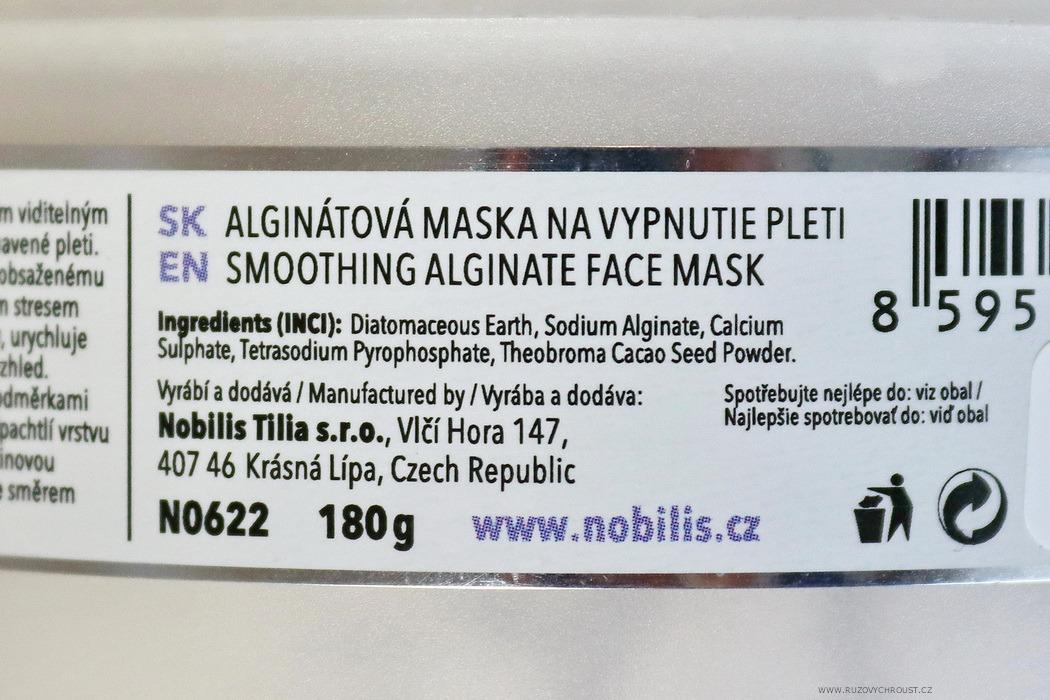 Nobilis Tilia - Vypínací alginátová maska