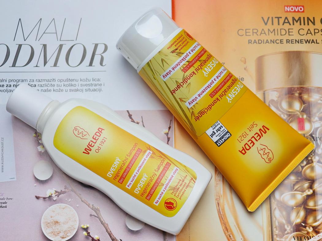 Weleda - Ovesný regenerační šampon a kondicionér