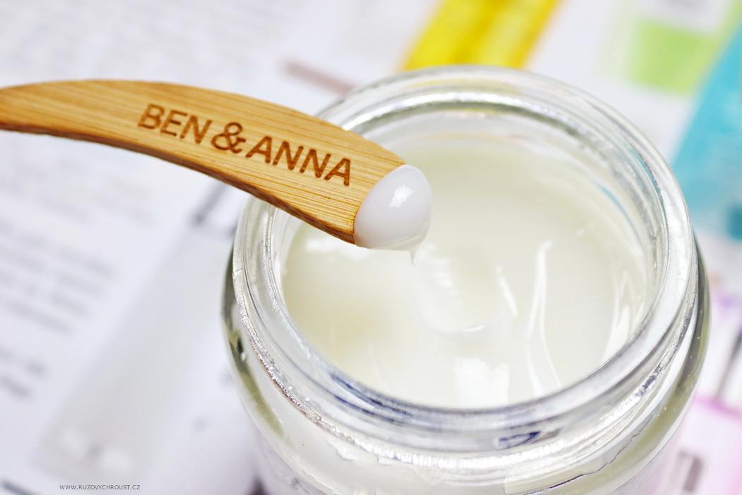 Ben & Anna - zubní pasta proti zbarvení zubů a ústní voda pro citlivé zuby