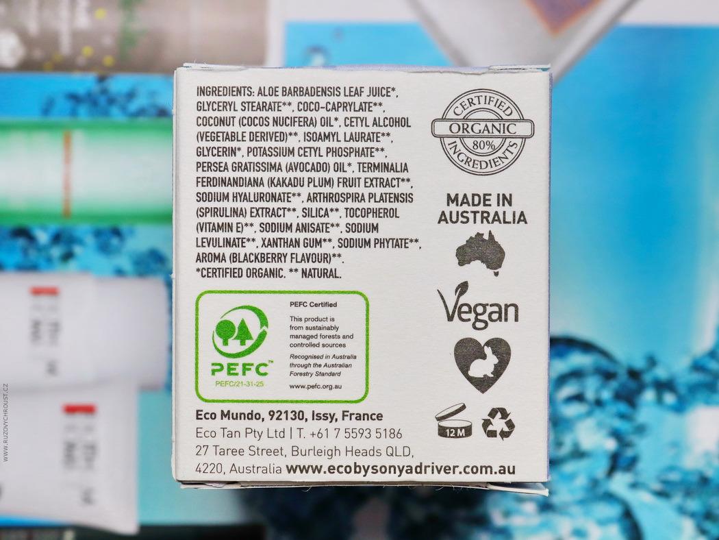 Eco by Sonya - Rozjasňující krém pro oční okolí Eye Compost
