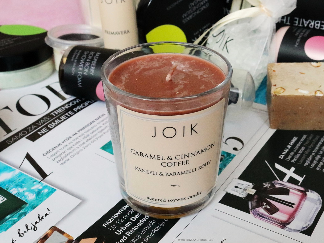 JOIK Caramel & Cinnamon coffee candle