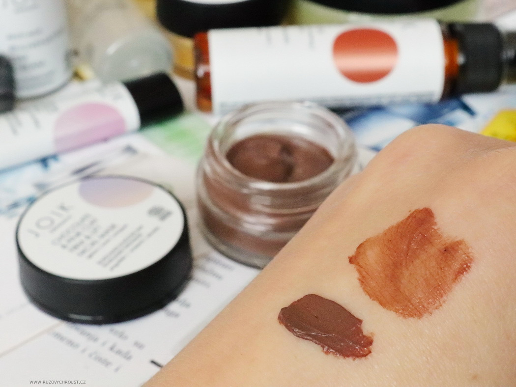 JOIK Chocolate & Ping clay firm & lift facial mask (Craving for chocolate...)