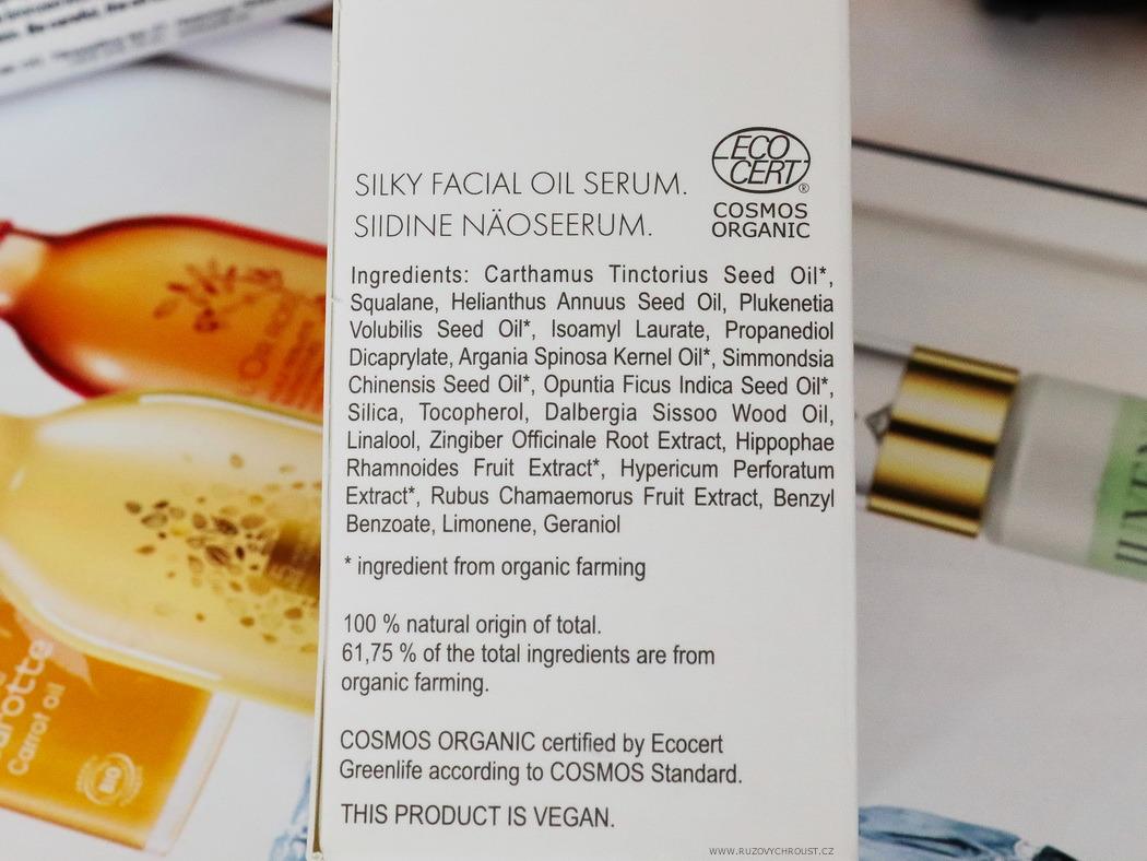 Silky facial oil serum (Dreaming of a white Christmas)