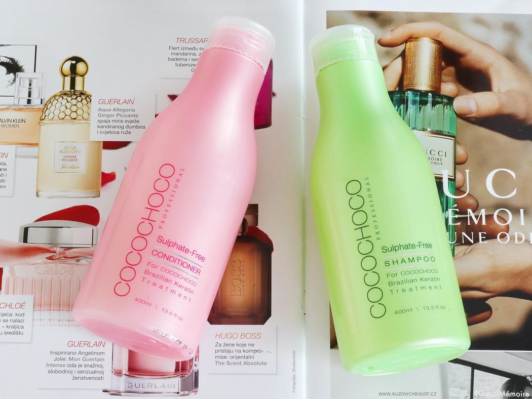 Cocochoco - bezsulfátový šampon a kondicionér