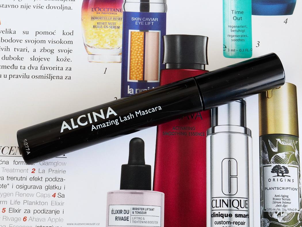 Alcina - prodlužující řasenka Amazing Lash, odst. 010 Black