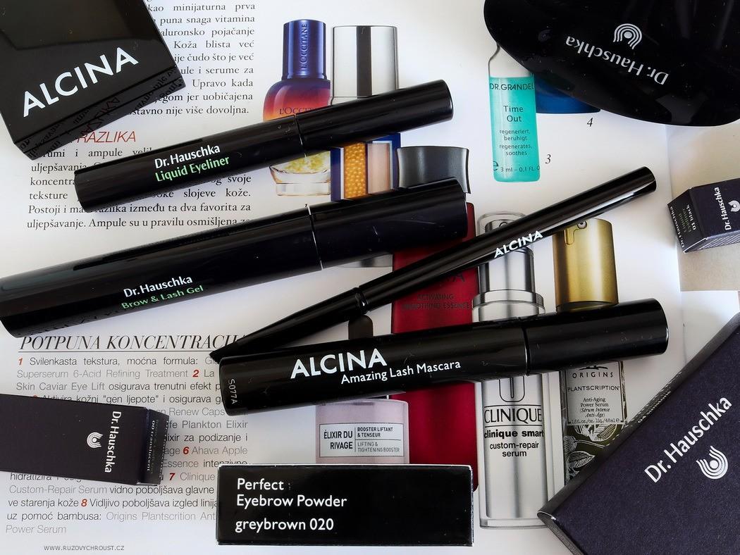 Dekorativní kosmetika na oči a obočí - Alcina + Dr. Hauschka