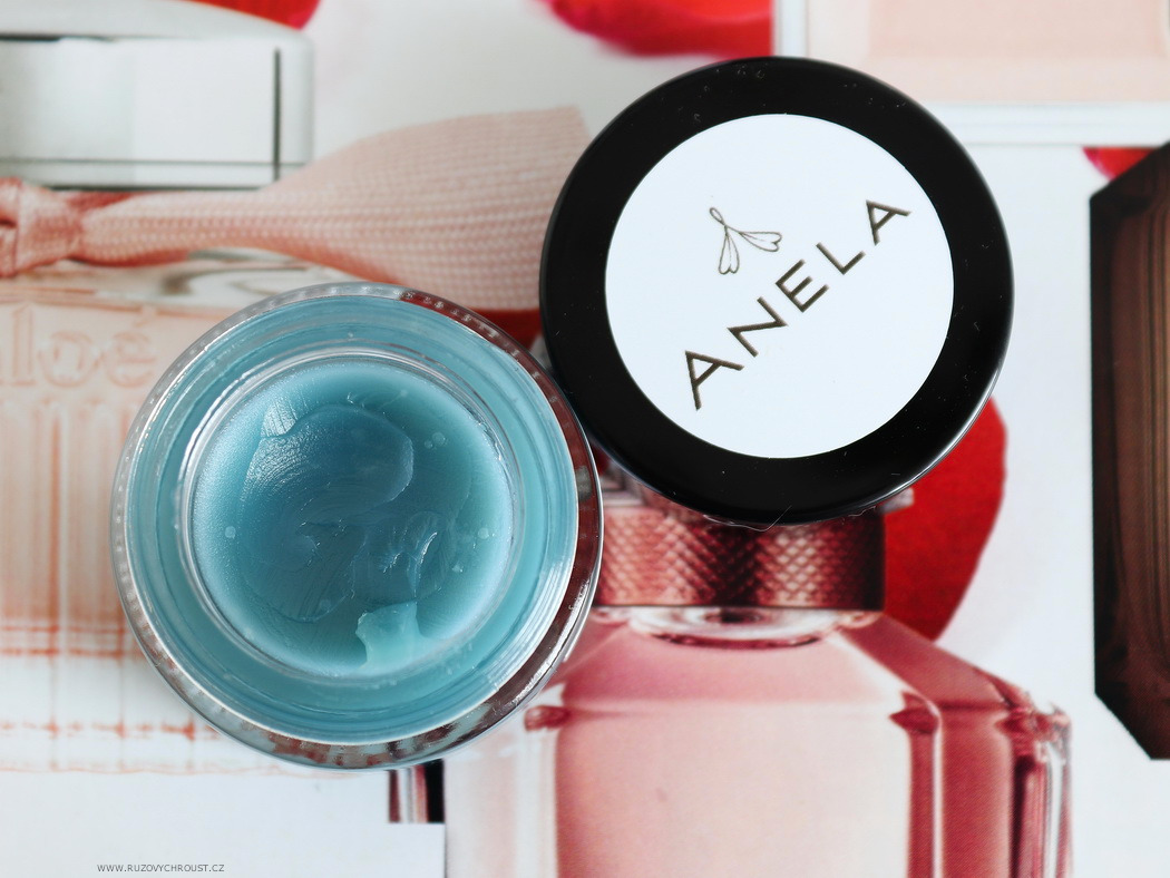 Anela - hydratační sérum Růžové z nebe, Bezstarostný motýl, Sladce bezstarostná a balzámek Půlnoční krása