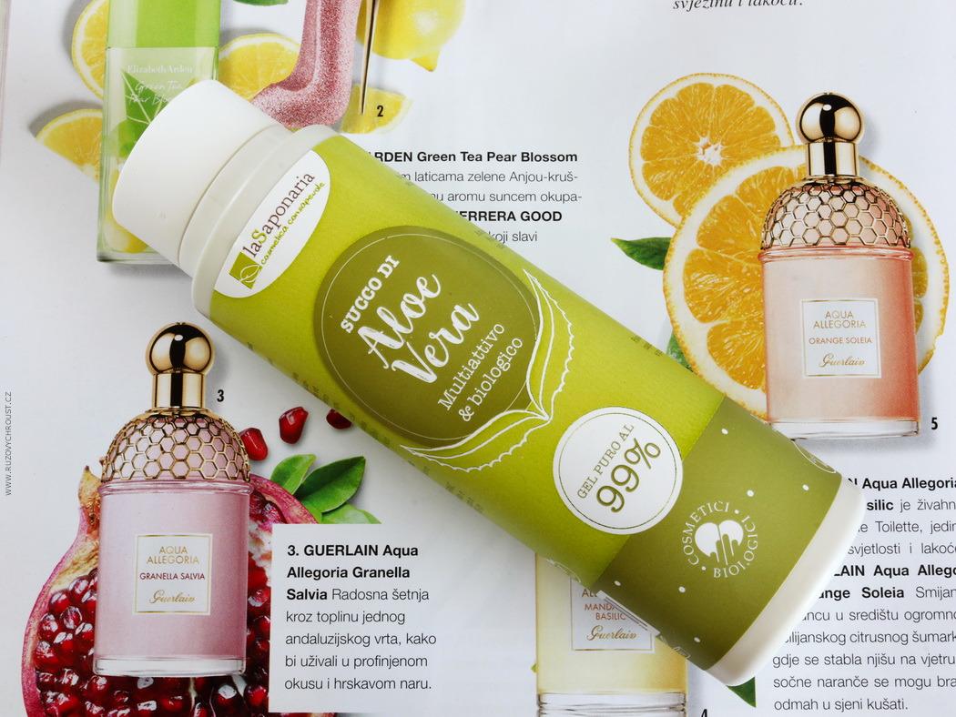 LaSaponaria - 99% aloe vera gel na tělo a vlasy