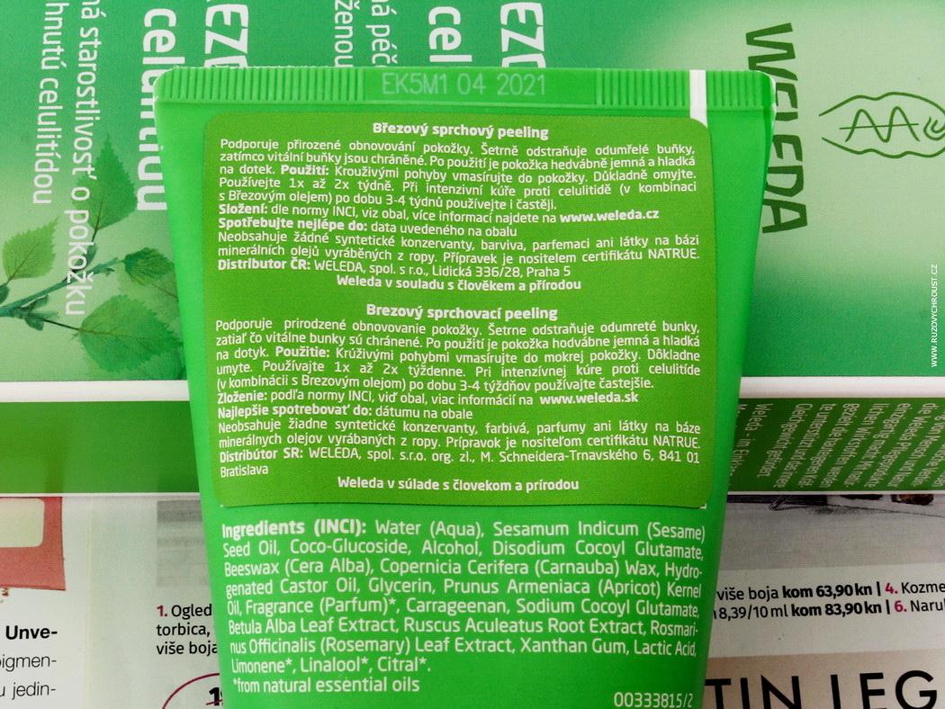 Weleda - moje 3 nejoblíbenější produkty (čisticí tonikum 2v1, březový olej, březový peeling)